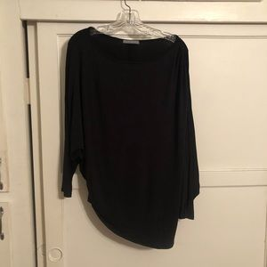 Super soft black dolman top!